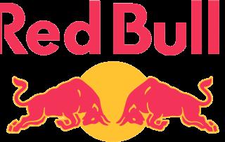 Hautklebe-Tattoos Referenzen Logo Redbull