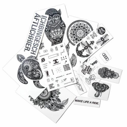 klebetattoos-schwarz-verschiedene-groessen