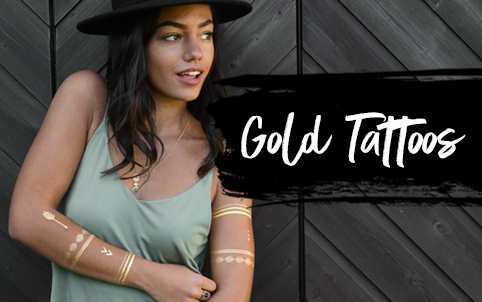 Goldene Tattoos