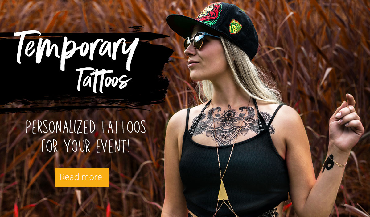 Personalized temporary tattoos Infopage Link