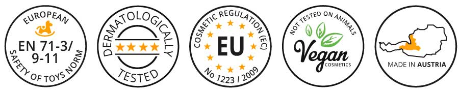 Cosmetic Certifications Print Tattoo