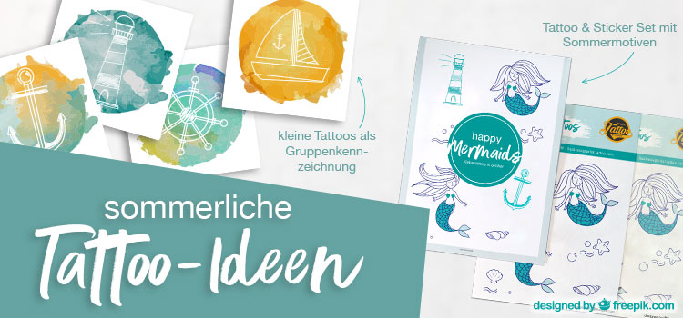 Tattoo-Sets Sommer